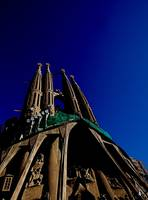La Sagrada Famillia In Blue
