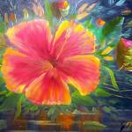 """Hibiscus Flower Art"" by mazz"
