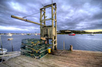 Stage Harbor Trap Dock (HDR)