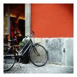 """bikeonredwall"" by maxvuer"