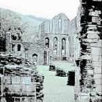 """Ruins of an abbey in Wales"" by JCarmen"