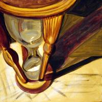 Hourglass Canvas Painting