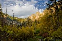 Spearfish Canyon in Autumn