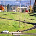 """Power line park in Beaverton, Oregon"" by serenethos"