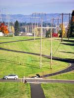 Power line park in Beaverton, Oregon