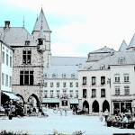 """town square, Echternach, Luxembourg"" by JCarmen"
