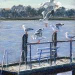 """""""sunlit seagulls"""" by DebraScidone"""