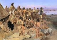 Capt.William Clark Meeting the Indians of the N.W.