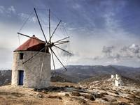 Windmills of Chora Amorgos