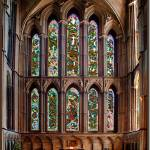 """East Window Worcestershire Cathedral"" by davemorgan"