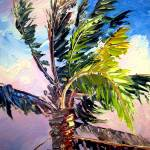 """Palm Tree in the Wind"" by mazz"