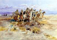 Indian Scouting Party (1897) by Charles Russell
