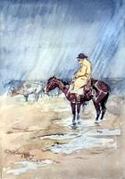 Just a Little Rain (c. 1898) by Charles Russell