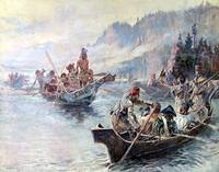 Lewis and Clark on the Lower Columbia (1896)