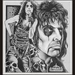 """alice cooper, the master of shock rock"" by EARLFERGUSON"
