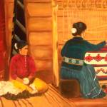 """Native American Indian Navajo Weaver"" by Ilovecolor"