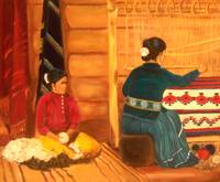 Native American Indian Navajo Weaver