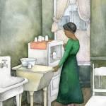 """""""Woman in Kitchen, Harlem Series"""" by MiriamNerlove"""