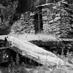"""""""Derelict Slate Hut"""" by andrewstelmach"""