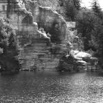"""Cliffs at Lake Minnewaska"" by foxvox"