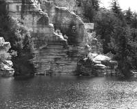 Cliffs at Lake Minnewaska