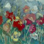 """Poppies Tapestry"" by theartistfemme"