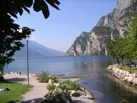 A lakeside view, Lake Garda