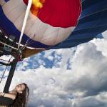 """Girl in a Hot Air Balloon"" by NacoPhotography"