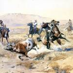 """The Renegade (1900) by Charles Russell"" by ArtLoversOnline"