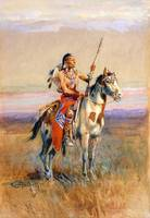 The Scout (1907) by Charles Russell