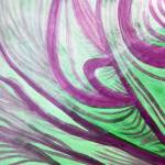 """""""Purple Green Healing Waves"""" by serenethos"""