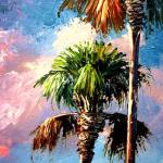 """Palm Tree Art"" by mazz"