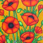 """Poppies II"" by LisaLorenz"