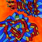 """""""Abstract Dublin 14"""" by Aurelie"""