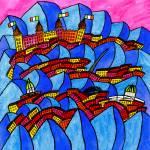"""""""Abstract Dublin 15"""" by Aurelie"""