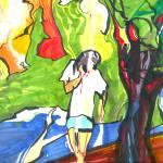 """""""Joe at the water"""" by aaronnathan"""