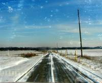 Icey Roads of Blue