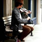 """Street Musician"" by DuffyPhoto"