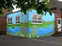 Graffiti meets Landscape Killamarsh Junior School