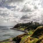 """A view of Scarborough North Bay in Yorkshire"" by SteveWalton"