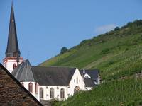 Germany-Hillside Church