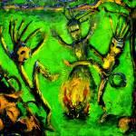 """Rain-Forest Dance"" by rodholmstudio-digitallimn"