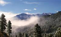 Misty Pikes Peak
