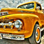 """Yellow truck HDR - Tone mapped"" by tiquis"