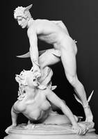 Perseus slaying Medusa