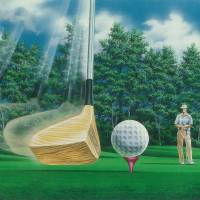 Fore! A Day At The Course Art Prints & Posters by Gregory S. Whitt