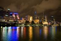 River Yarra Night