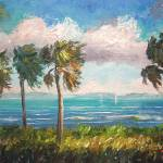 """Cabbage Palms along Indian River"" by mazz"