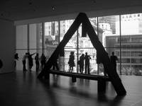 Silhouettes at the MoMA