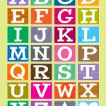 """ABC Alphabet Poster"" by karynlewis"